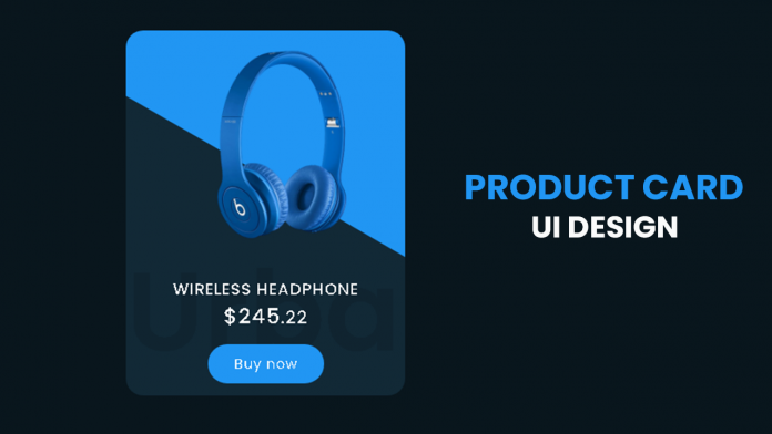 product card design
